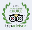 logo TripAdvisor Travellers' Choice 2015